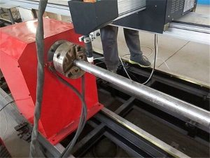 2018 novo tipo portátil máquina de cortador de tubos de metal plasma, máquina de corte de tubo de metal cnc
