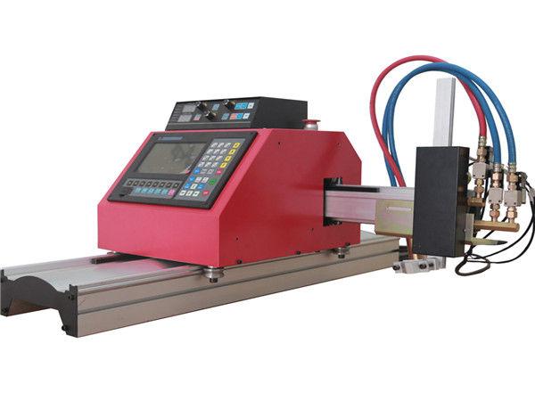 2017 venda quente portátil pórtico cnc chama máquina de corte plasma com THC para aço