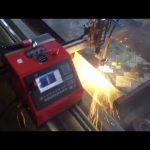 2017 de alta qualidade certificação CE cortador de metal portátil barato cnc máquina de corte plasma