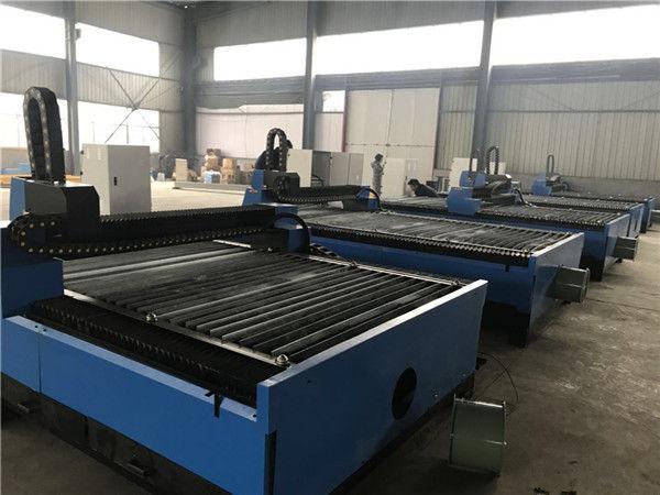Alibaba China chapas de chapa metálica cnc cortador de plasma máquina de corte plasma 1325 para aço inoxidável