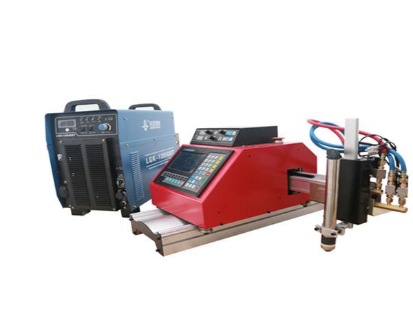 Máquina de corte portátil automática do plasma do CNC para alumínio de aço inoxidável