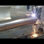 CNC 3 eixos tubo de chama plasma tubo rotativo máquina de corte de aço