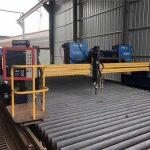 China big szie cnc pórtico chama máquina de corte plasma