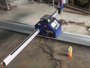China barato 1500 * 2500mm de metal portátil cnc máquina de corte a plasma ce