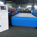 China máquina de corte a plasma cnc hyper 125a folha de metal de espessura 65a 85a 200a opcional jbt-1530