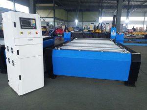 China Máquina de corte do plasma do Cnc com Hyper 125a para a folha de metal grossa 65a 85a 200a opcional