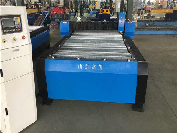 China Huayuan 100A que corta o metal da placa da máquina 10mm do CNC