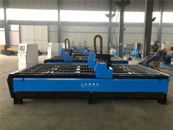 Máquina de corte chinesa por chama e plasma de metal CNC