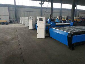 Mesa de máquina de corte a plasma portátil cnc / mesa de mesa / hardware máquina de corte de aço inoxidável cnc