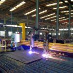 pórtico cnc máquina de corte plasma chama máquina de corte de chapa de aço