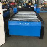 Máquina de corte a plasma de metal para placa de tubo de tubo de cnc resistente para aço inoxidável / aço carbono / ferro