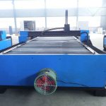 Máquina de corte a plasma para trabalhos pesados ms pórtico de chapa de metal cnc