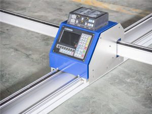 Velocidade de corte mínima da máquina de corte 0-3500mm do plasma da CNC da eficiência elevada
