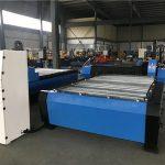 Grande 2000 * 6000mm cnc folha de metal tubo de corte a plasma máquina de perfuração