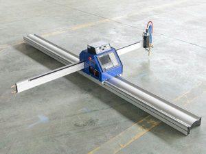 Baixo custo pequena placa de aço cnc máquina de corte por chama de plasma