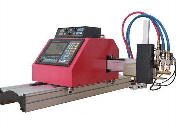 Perfil de tubo de aço quadrado multifuncional CNC FlamePlasma máquina de corte com alta qualidade