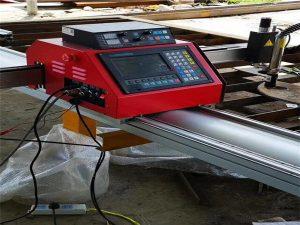 máquina de corte numérica portátil do cnc / máquina de corte plasma do metal