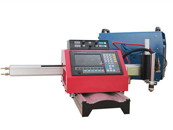 Máquina de corte do plasma do CNC do acetileno do oxigênio com suporte 220V 110V do cabo da tocha