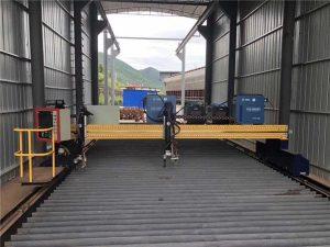 precisão cnc máquina de corte a plasma preciso 13000mm servo motor