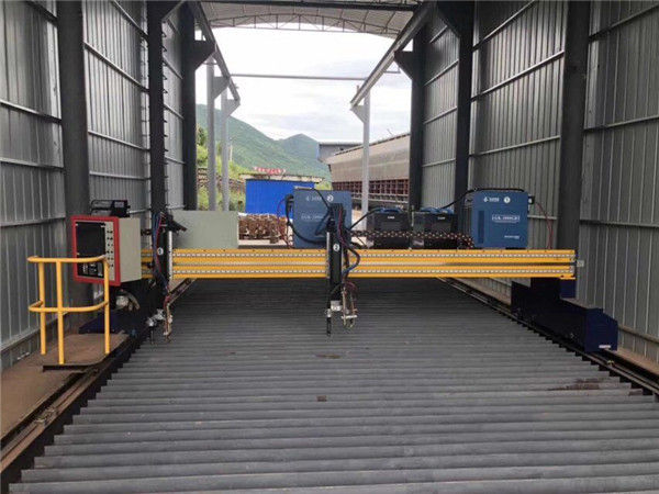13000mm exato da máquina de corte do plasma do CNC da precisão com servo motor