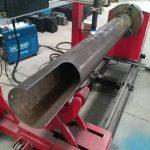 eixo rotativo cnc círculo tubo de baixo custo cnc máquina de corte plasma