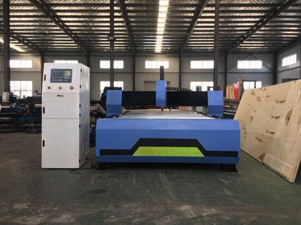 Máquina de corte pequena do cortador da metalurgia do plasma do CNC