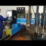 pórtico resistente cnc máquina de corte a plasma fabricação de metal automatizado