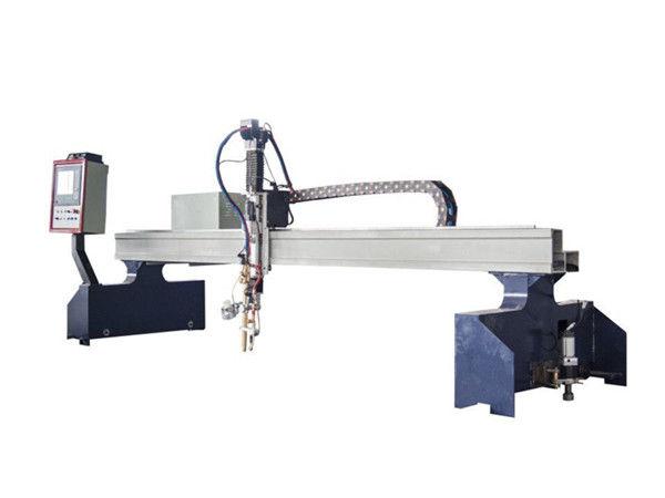 máquina de corte a plasma e chama cnc para metal plano e tubular