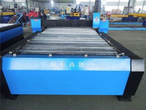 CNC corte a plasma placas de metal pequenas máquinas para ganhar dinheiro / máquina de corte plasma cnc