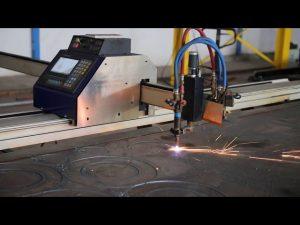 Tipo de celeiro de baixo custo portátil mini máquina de corte a plasma cnc