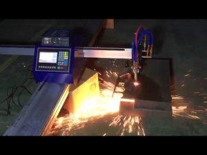 Baixo custo mini portátil cnc chama chama máquina de corte plasma para cortar metal em aço inoxidável