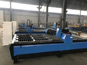 metal que processa a máquina de corte pequena do plasma do cnc com elevada precisão