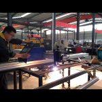 máquina de corte a plasma CNC cantilever portátil