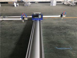 máquina de corte a plasma de chama cnc portátil