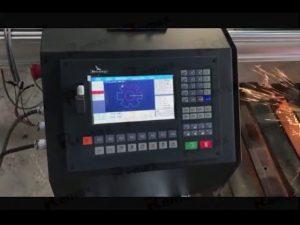 máquina de corte portátil cnc flameplasma com servo motor