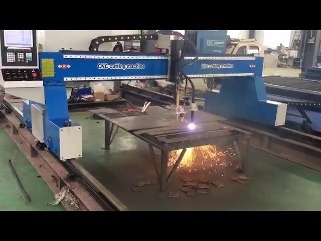 Máquina de corte a plasma portátil cnc guindaste de pórtico cortador de plasma