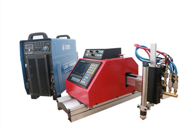 plasma cnc portátil, gás, chama, máquina de corte de chapa de metal oxgen com THC