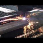 Venda CNC máquina de corte a plasma com rotativo, cortador de plasma para tubos de metal
